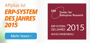 """IT & Business 2015: APplus ist das """"ERP-System des Jahres""""…"""